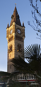 darlington clock tower card
